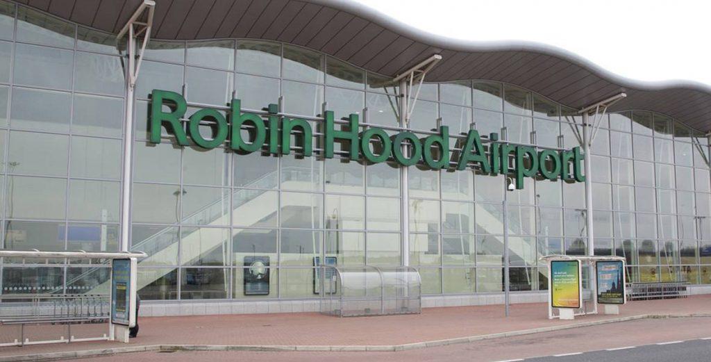 Doncaster Sheffield Airport Vervoer Vliegveld Naar
