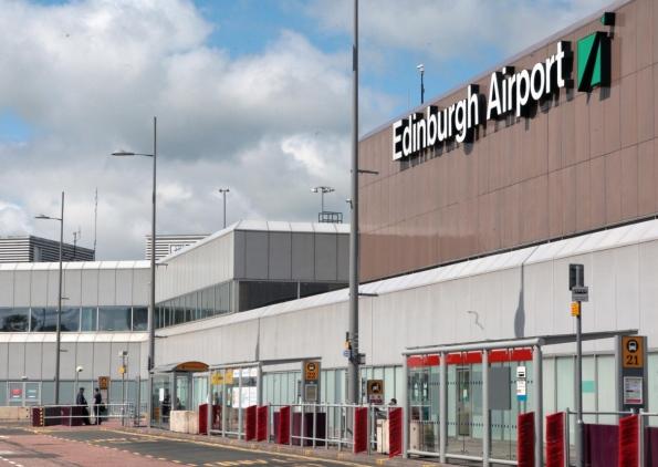 Aeroporto Edimburgo : Edinburgh airport vervoer vliegveld naar centrum bus