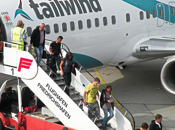 Friedrichshafen airport vervoer vliegveld naar centrum for Depot friedrichshafen