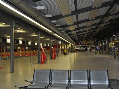 Karlsruhe Baden Baden Airport Bus Vervoer Vliegveld Naar
