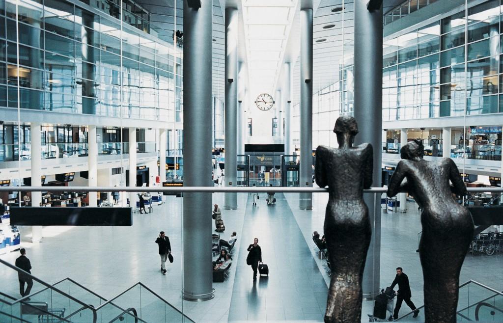 Kopenhagen Airport Vervoer Vliegveld Kastrup Naar