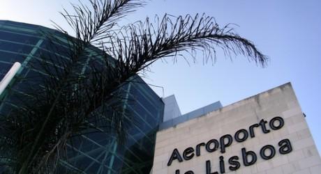 Lissabon Airport Vervoer Vliegveld Naar Centrum Metro