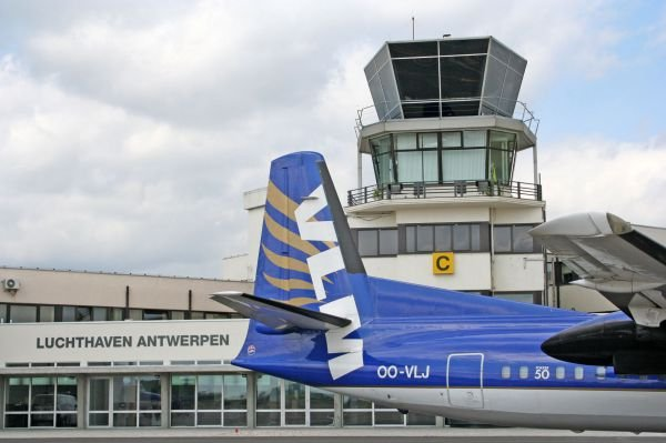 Luchthavengebouw Antwerp Airport