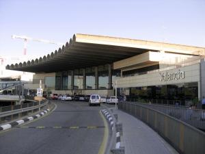 Valencia Airport Vervoer Vliegveld Naar Centrum Metro