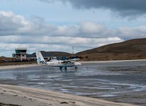 Vliegveld Barra start- en landingsbaan