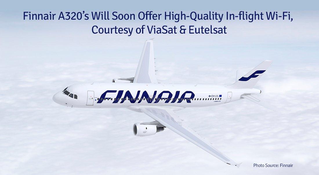 WiFi aan boord van Finnair toestellen